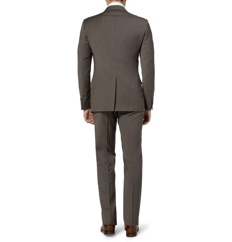 Gucci Brera Slim-Fit Wool Suit | MR PORTER
