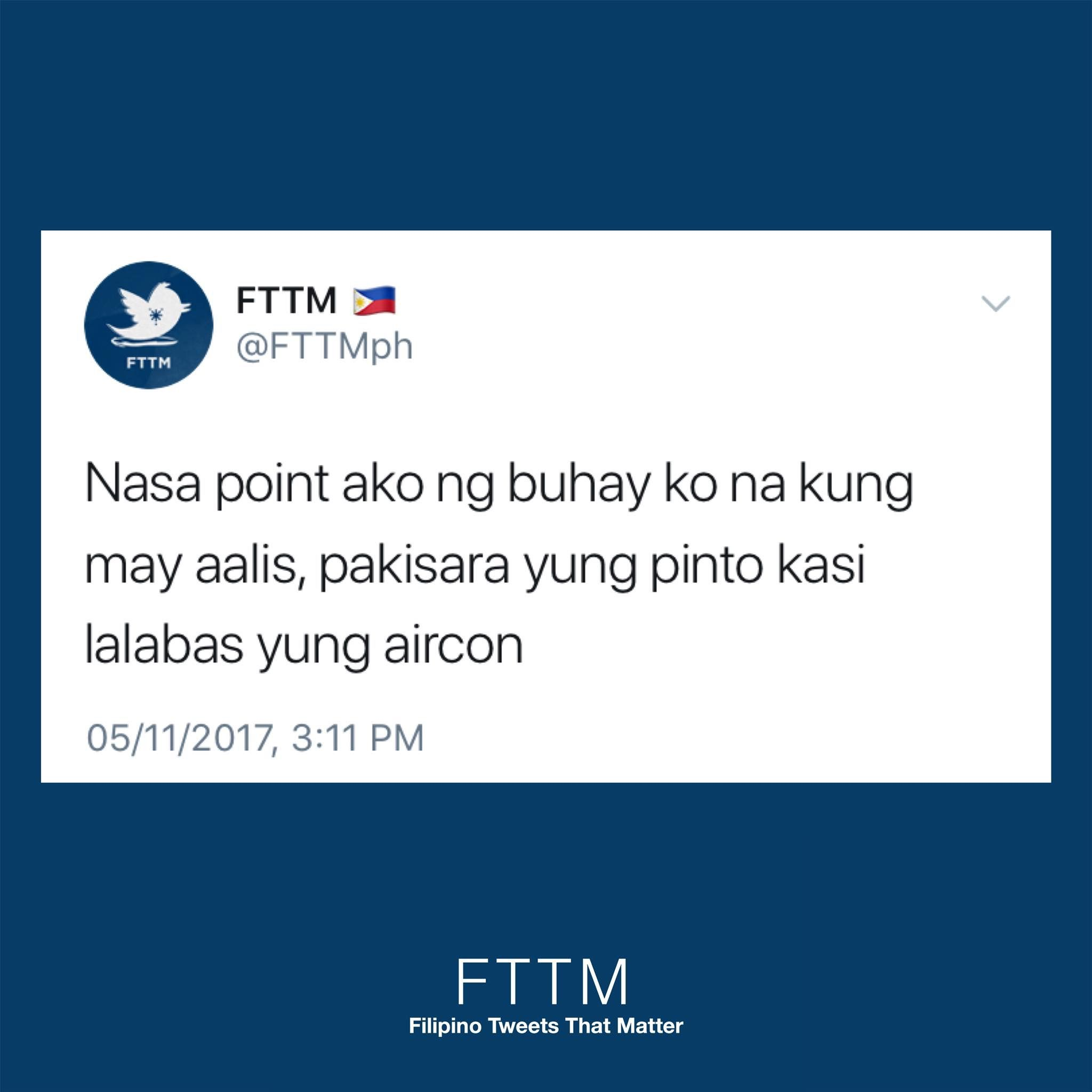 Pin By Temporarily Low Key On Funny Filipinotweets Tagalog Quotes Tagalog Quotes Funny Positive Quotes