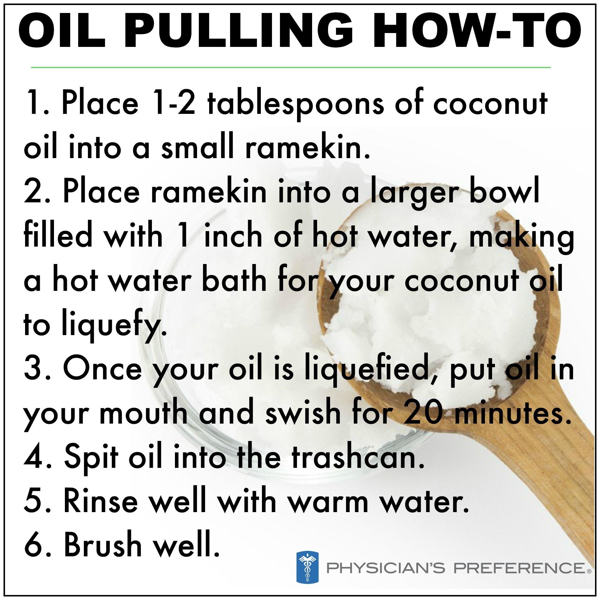 How Oil Pulling Works Erkalnathandedecker