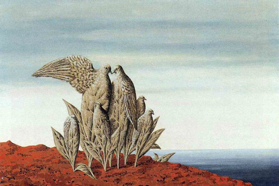 Rene Magritte - Island of Treasures, 1942