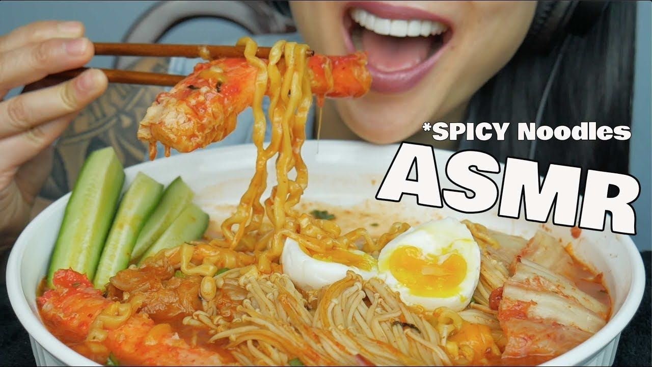 Asmr Spicy Noodles King Crab Legs Eating Sounds Sas Asmr Food Vids Eat Spicy Noodles D new video's fridays & sundays and sometimes tuesdays !! asmr spicy noodles king crab legs