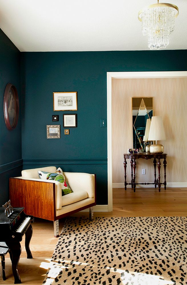 Unhealthy Tribal Rug Obsession Design Crisis Teal Rooms Interior Home #teal #and #black #living #room #ideas