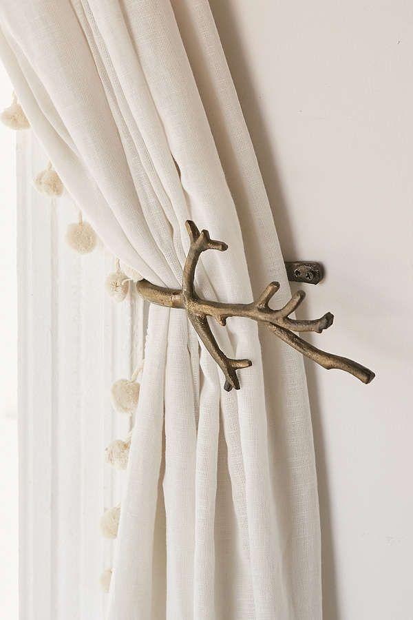 branch curtain tie back curtain tie
