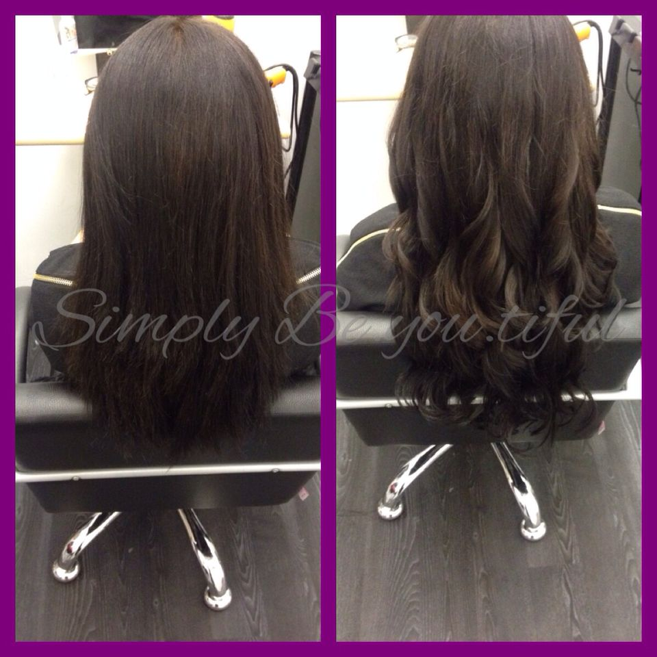 2 rows of micro link extensions 💕 Long hair styles, Hair
