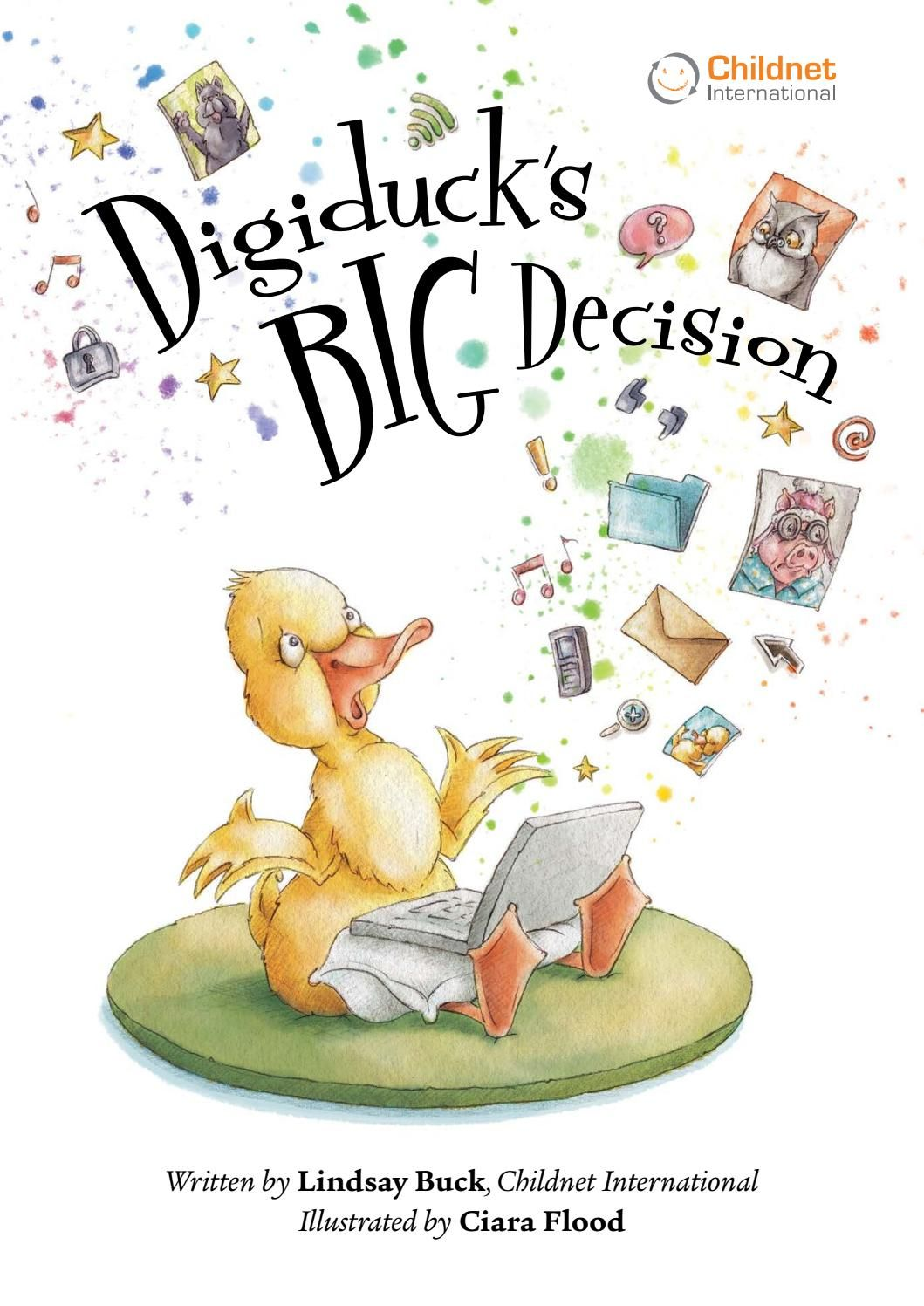 Digiduck S Big Decision In 2020 Internet Safety For Kids Online Safety Helping Kids