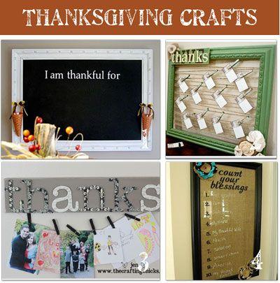 20 thanksgiving crafts!