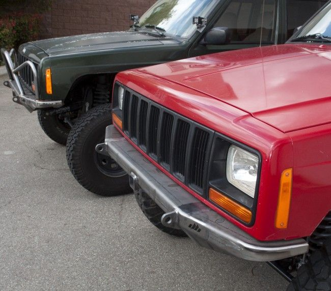 Mojave Front Bumper Jeep Cherokee Xj Front Bumpers Bumpers