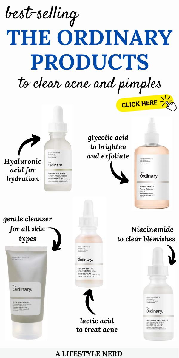 The Ordinary S Best Skincare Products To Get Rid Of Acne And Pimples Skin Care Routine Steps Affordable Skin Care Routine Skin Care Routine Order