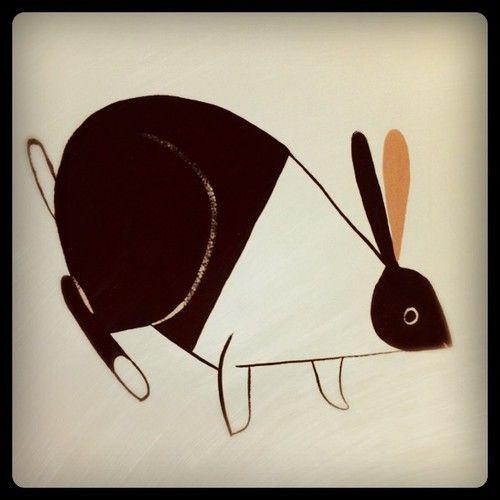Dutch bunny by Ping Zhu