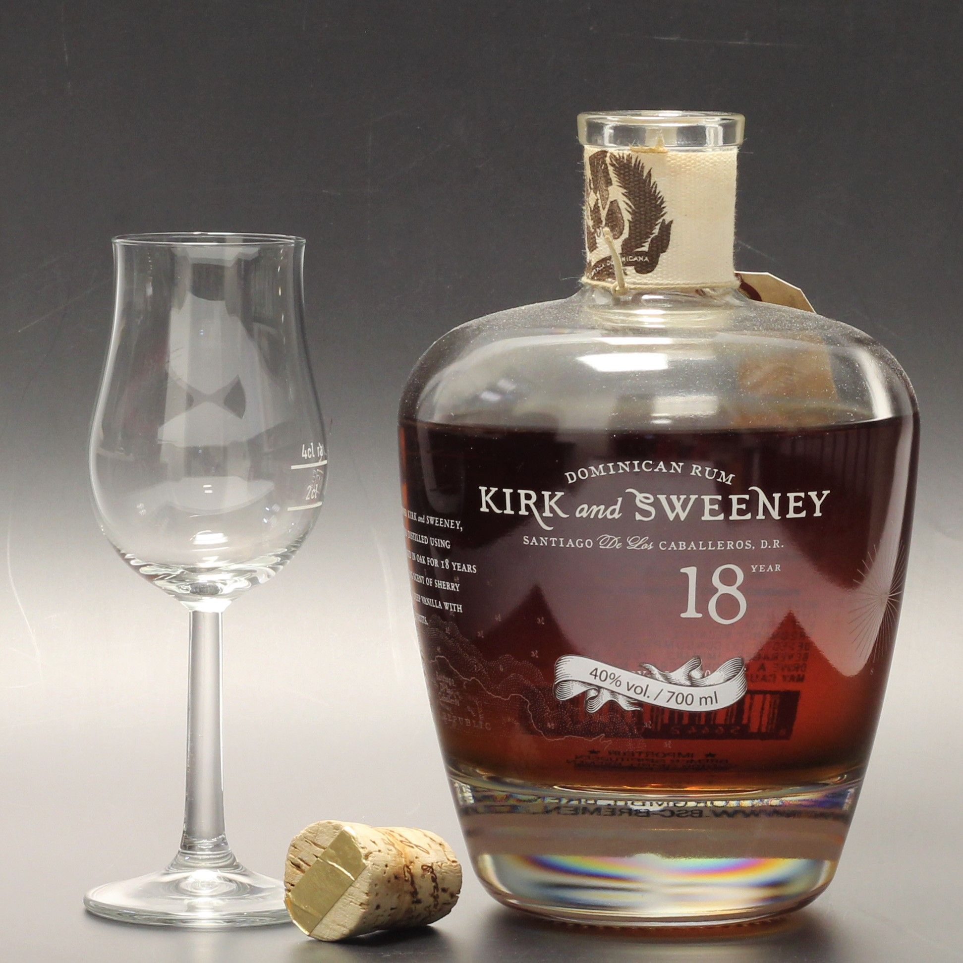 Kirk And Sweeny 18 Jahre Alter Rum Zimt Und Orange Whisky Spirituosen Gin