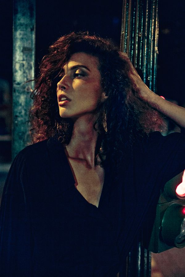 Night Out in Madrid with Stefania by Edgar Berg, via Behance