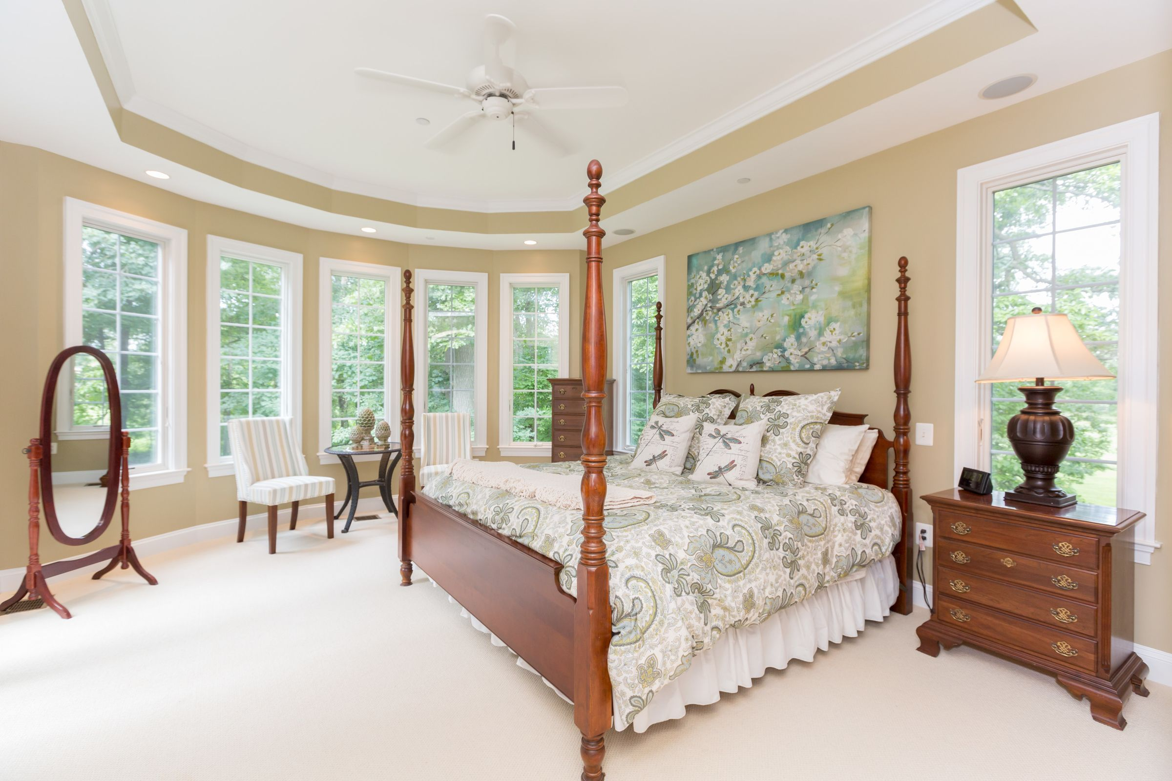 Bedroom | 2602 Triadelphia Lake Road, Brookeville MD | TTR Sotheby's International Realty | Listed at $1,225,000