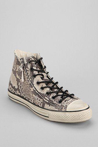 a0c04997e98ea9 Converse Chuck Taylor All Star John Varvatos Double-Zip Snake High-Top  Sneaker
