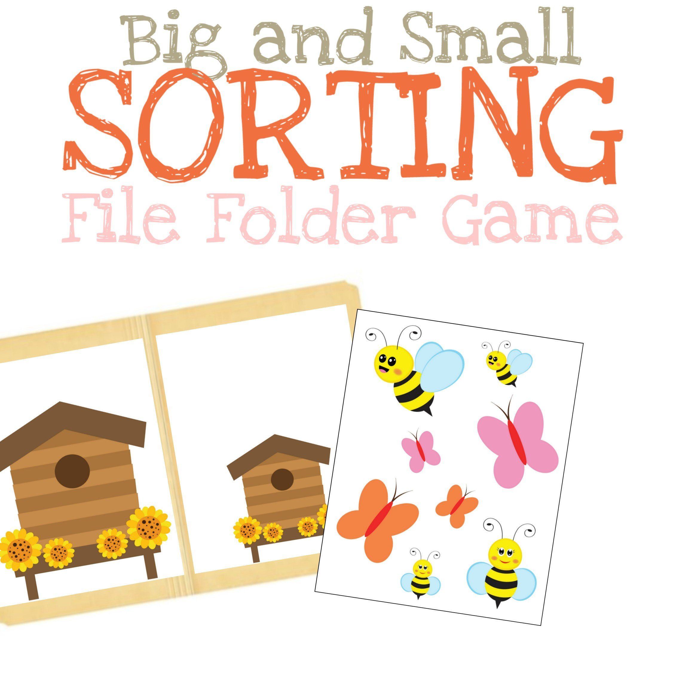 10 Preschool Worksheet Sorting Big And Little Coloring