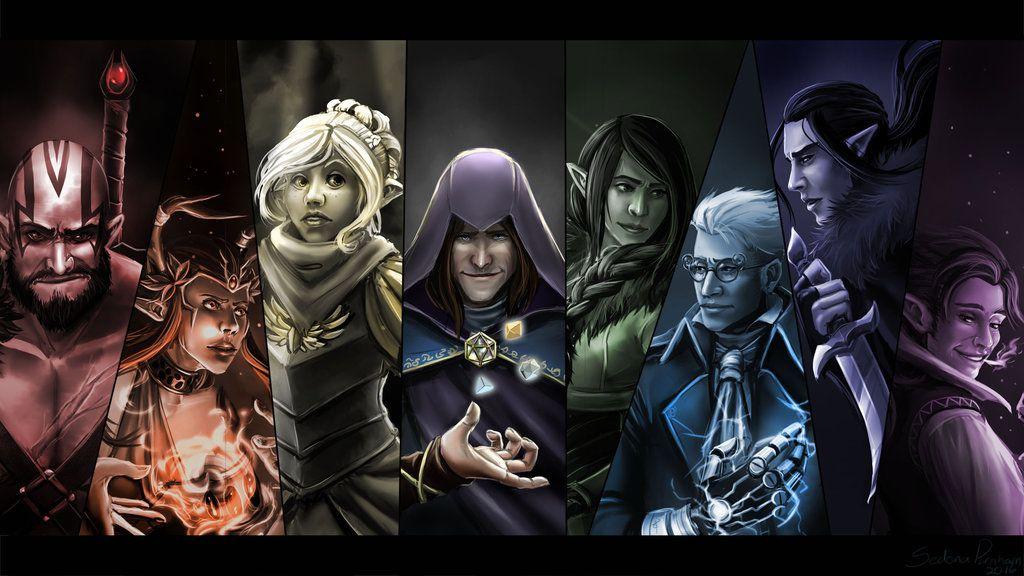 Critical Role 50th Episode Wallpaper By Anodesu Deviantart