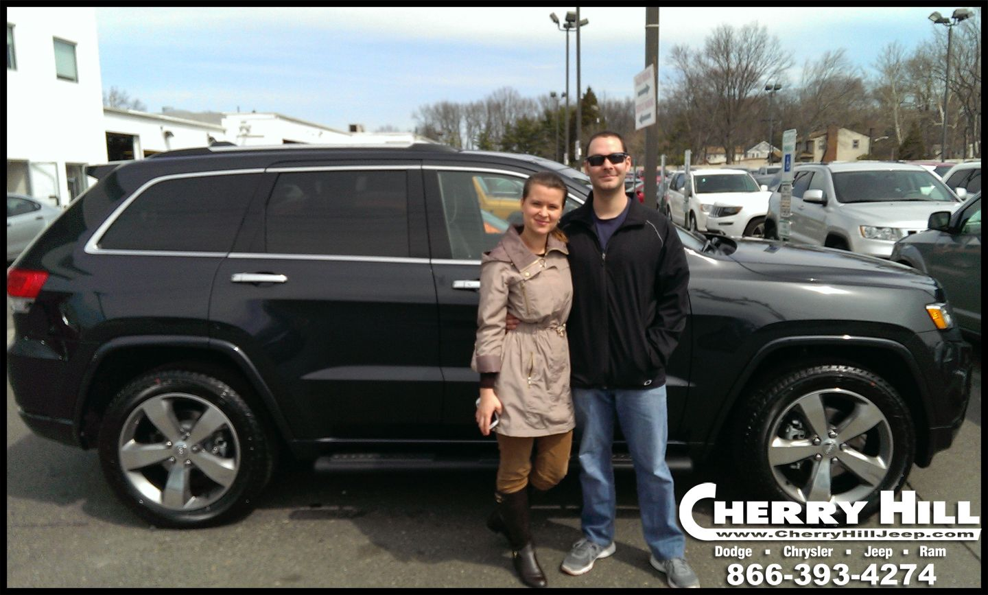 Congratulations To Michael F Who Just Picked Up A 2014 Jeep Grand