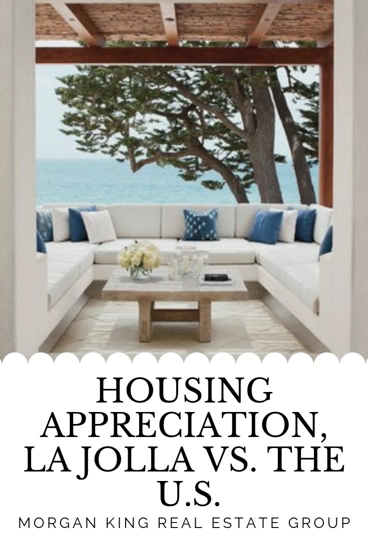 The Buyer S Guide Housing Appreciation La Jolla Vs The U S