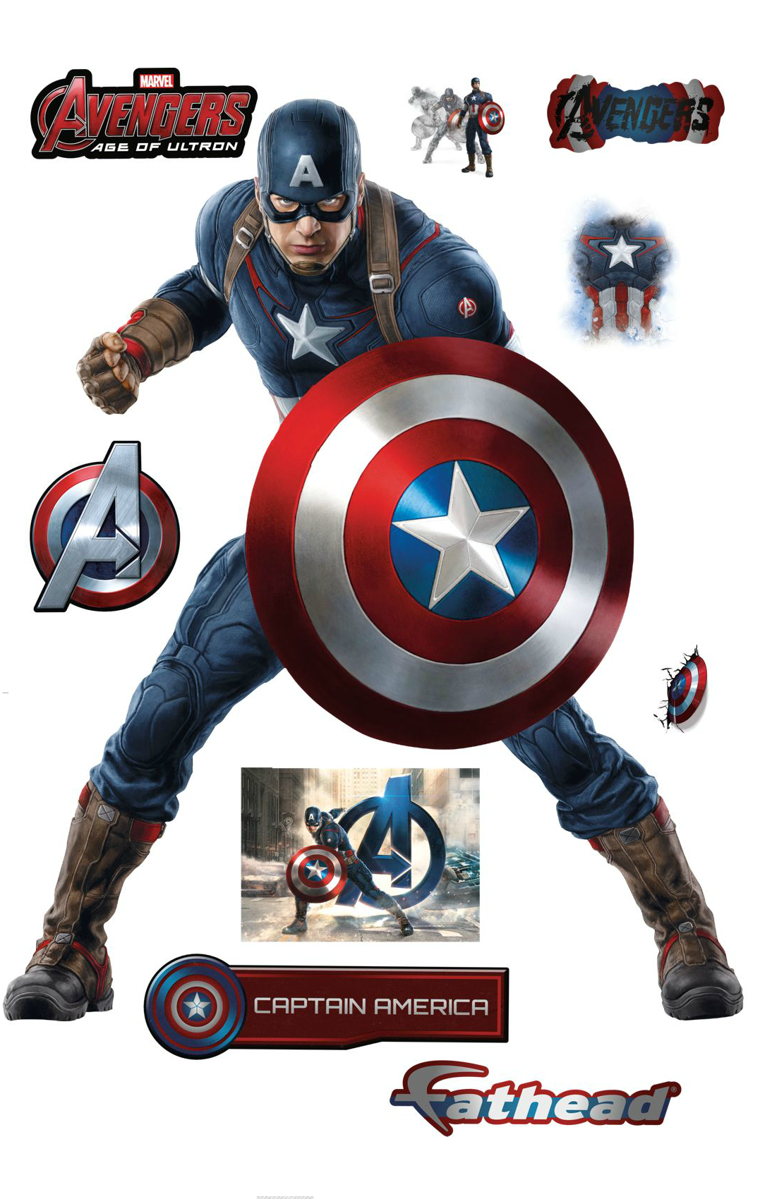 Fathead Wall Art some awesome new avengers: age of ultron promo art from fathead