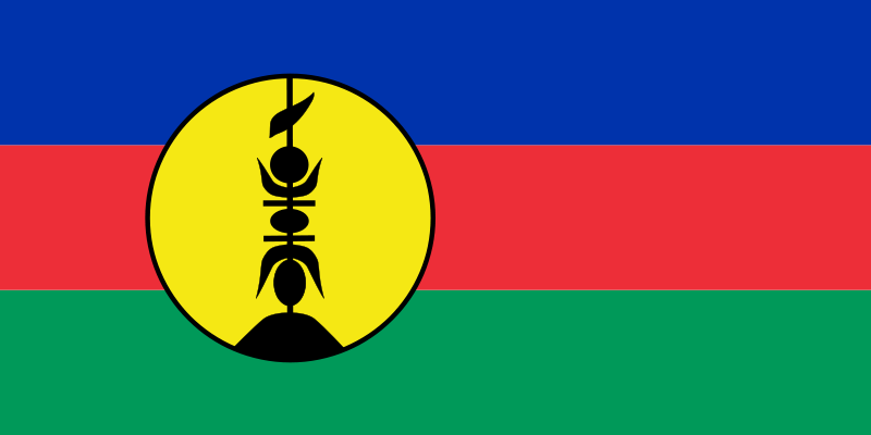 Flag Of New Caledonian Territory Of France Tales Of The South