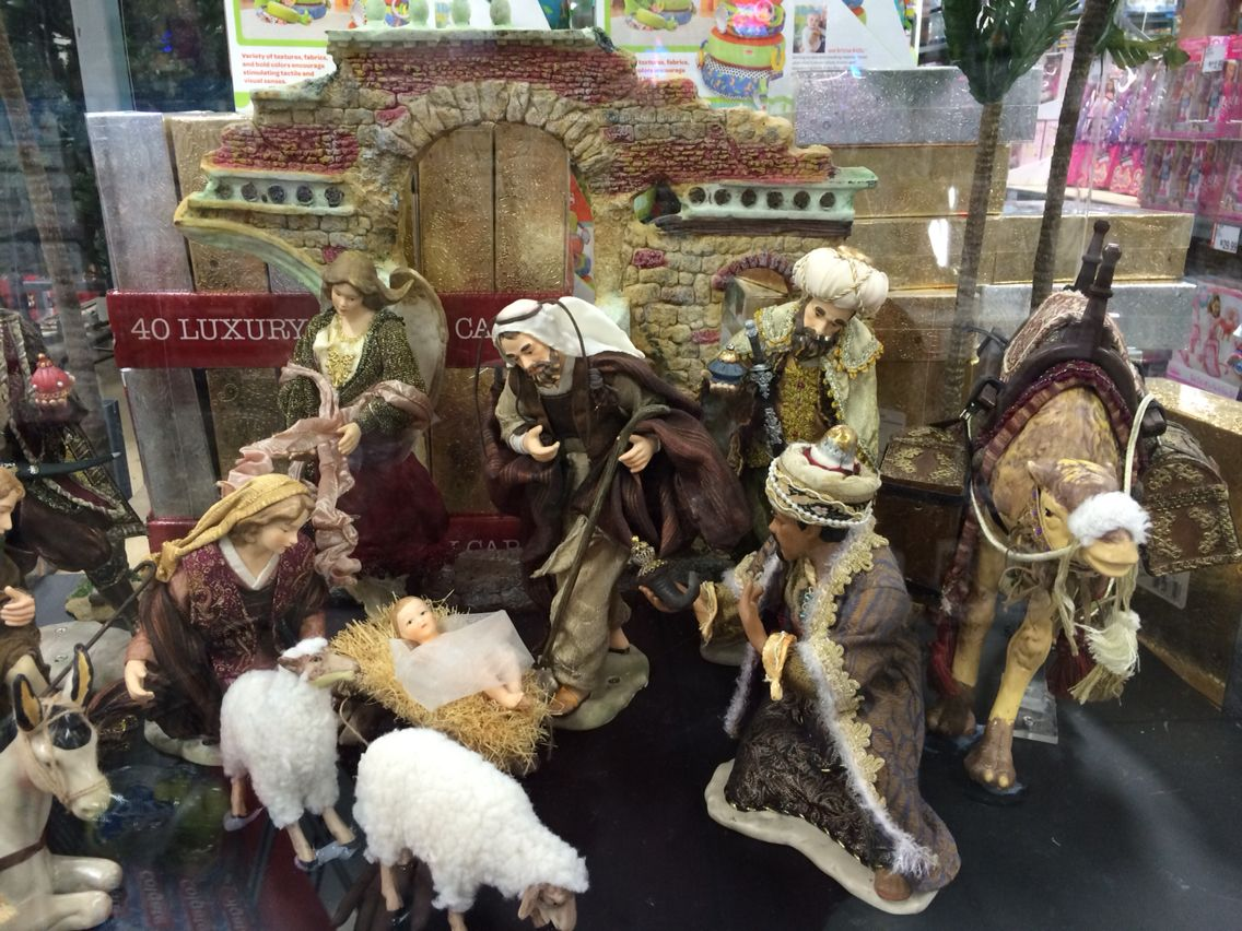 nativity set sold at bjs o holy night night when christ was