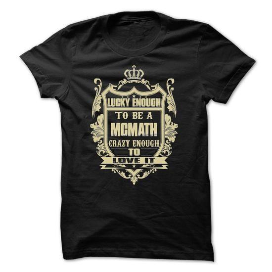 [Tees4u] - Team MCMATH - #cute shirt #creative tshirt. LIMITED AVAILABILITY => https://www.sunfrog.com/Names/[Tees4u]--Team-MCMATH-Ladies.html?68278