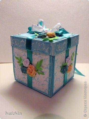 Очередная волшебная коробочка под денежный подарок на День рождения :) фото 1
