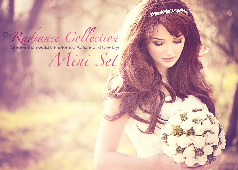 Free Radiance Mini Set Greater Than Gatsby Professional Photo Actions Wedding