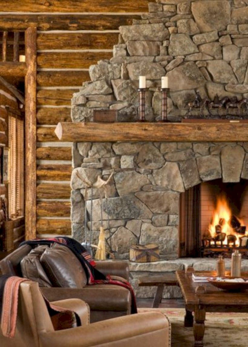 nice 46 Stunning Living Room Fireplaces Design Ideas With