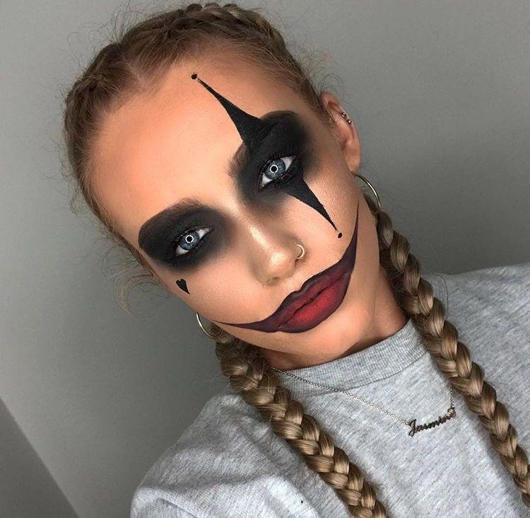 Pin by Kara Ross on costumes Pinterest Halloween makeup, Makeup - halloween makeup ideas easy