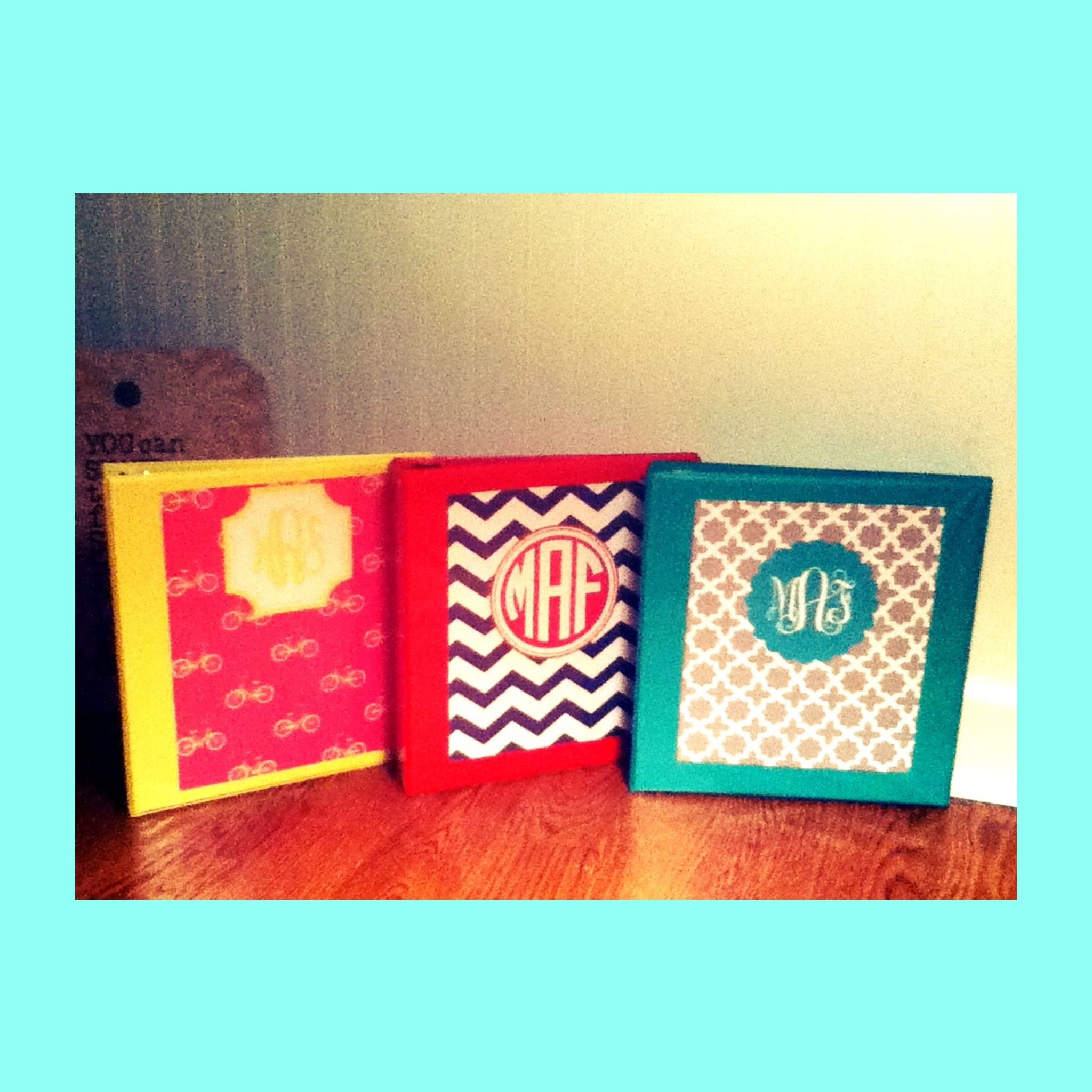 DIY Preppy Binder Covers! So Easy! Maybooks.com