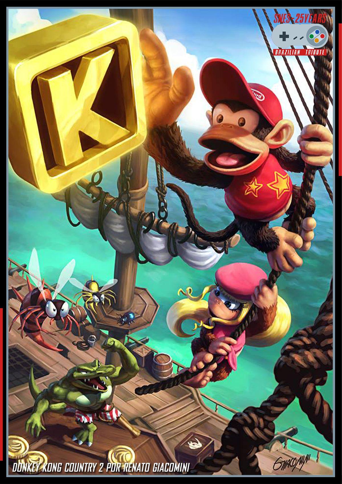 Pin By Justin Crady On Gaming Donkey Kong Donkey Kong Country