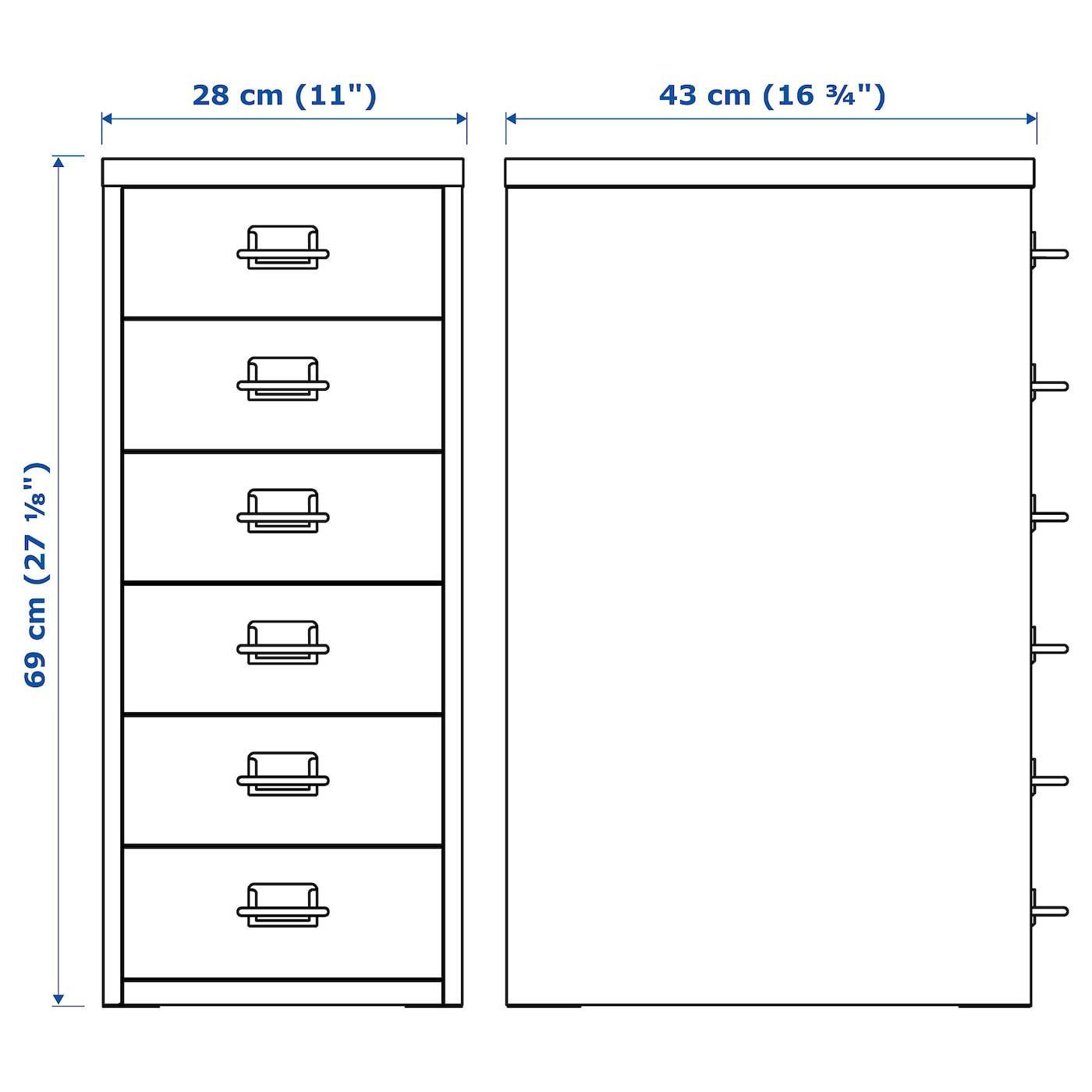 Helmer Cassettiera Con Rotelle.Helmer Cassettiera Con Rotelle Bianco 28x69 Cm Ikea It In 2020 Drawer Unit Drawers Helmer