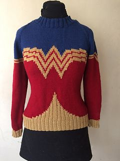 4438c2844c4a Wonder Woman pattern by Rachel Vowles