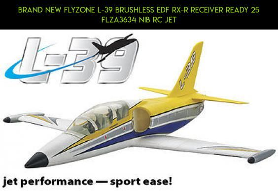 BRAND NEW FLYZONE L-39 BRUSHLESS EDF Rx-R RECEIVER READY 25