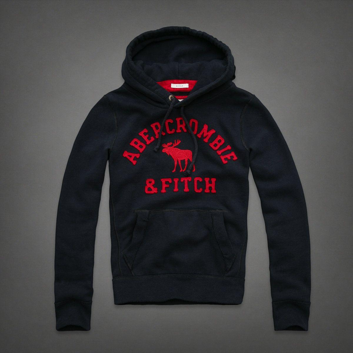 Abercrombie - mens allen mountain hoodie