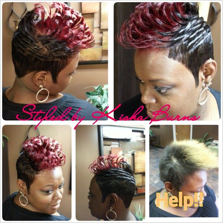 Pin On Short And Spiked Hair Styles