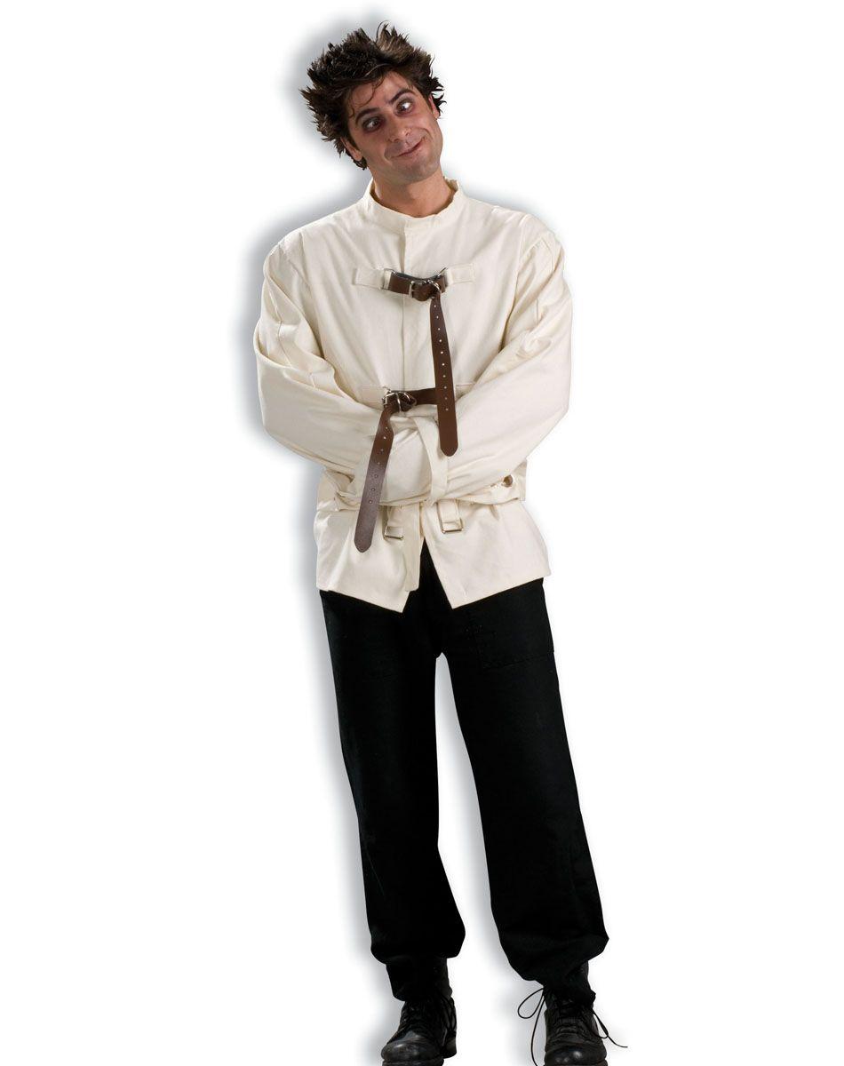 Strait Jacket Adult Costume – Spirit Halloween | Halloween ...