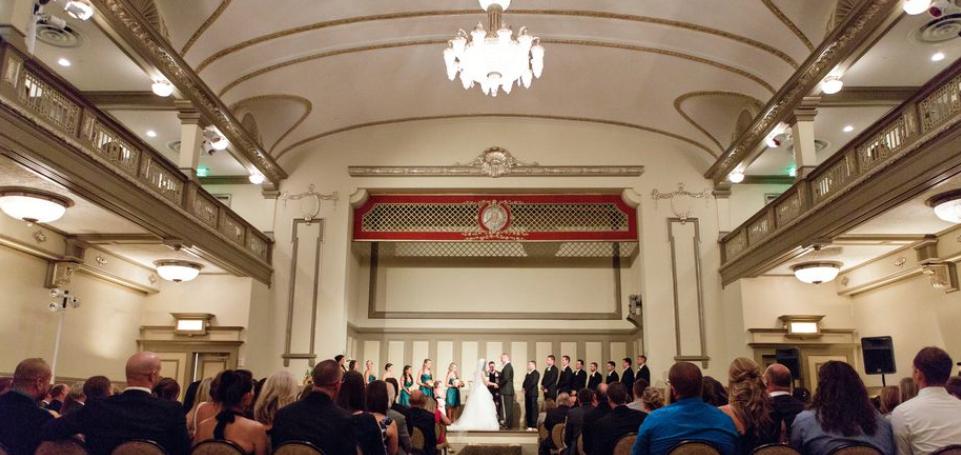 John Marshall Ballrooms in Richmond, Virginia. Wedding
