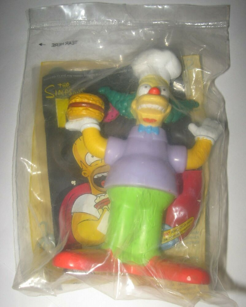Talking Krusty The Clown 2007 Burger King Kids Meal Toy The Simpsons Movie In 2020 The Simpsons Movie Krusty The Clown The Simpsons