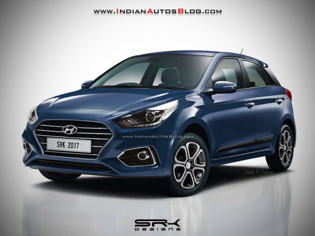 Updated 2018 Hyundai I20 2018 Hyundai Elite I20 Rendered Hyundai Cars Hyundai New Hyundai