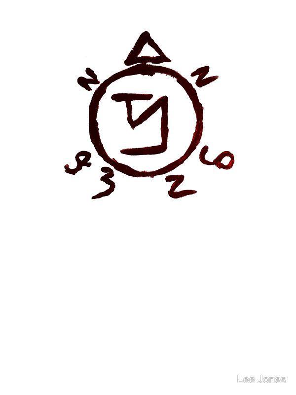 Supernatural - Enochian Sigil | Stickers | Tattoos