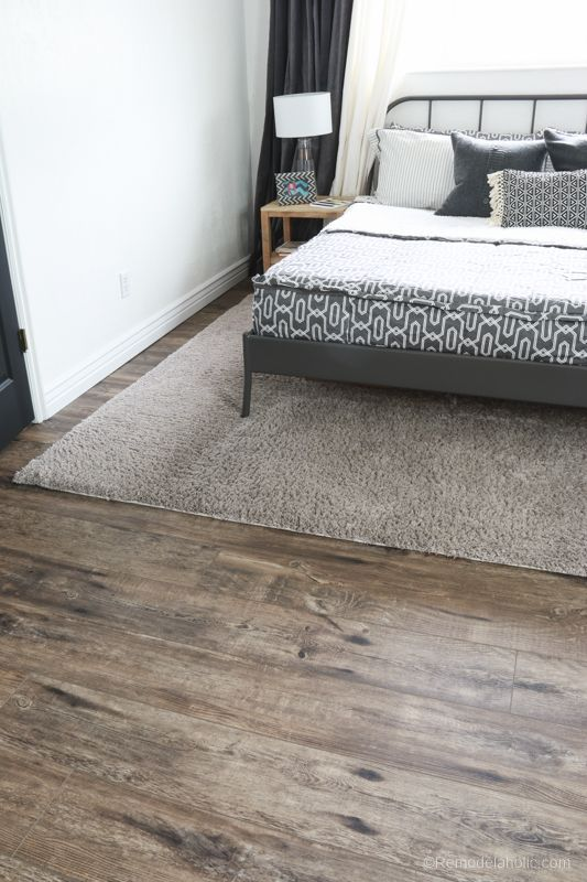 Get the look of hardwood floors without the upkeep and maintenance! This luxury ... -