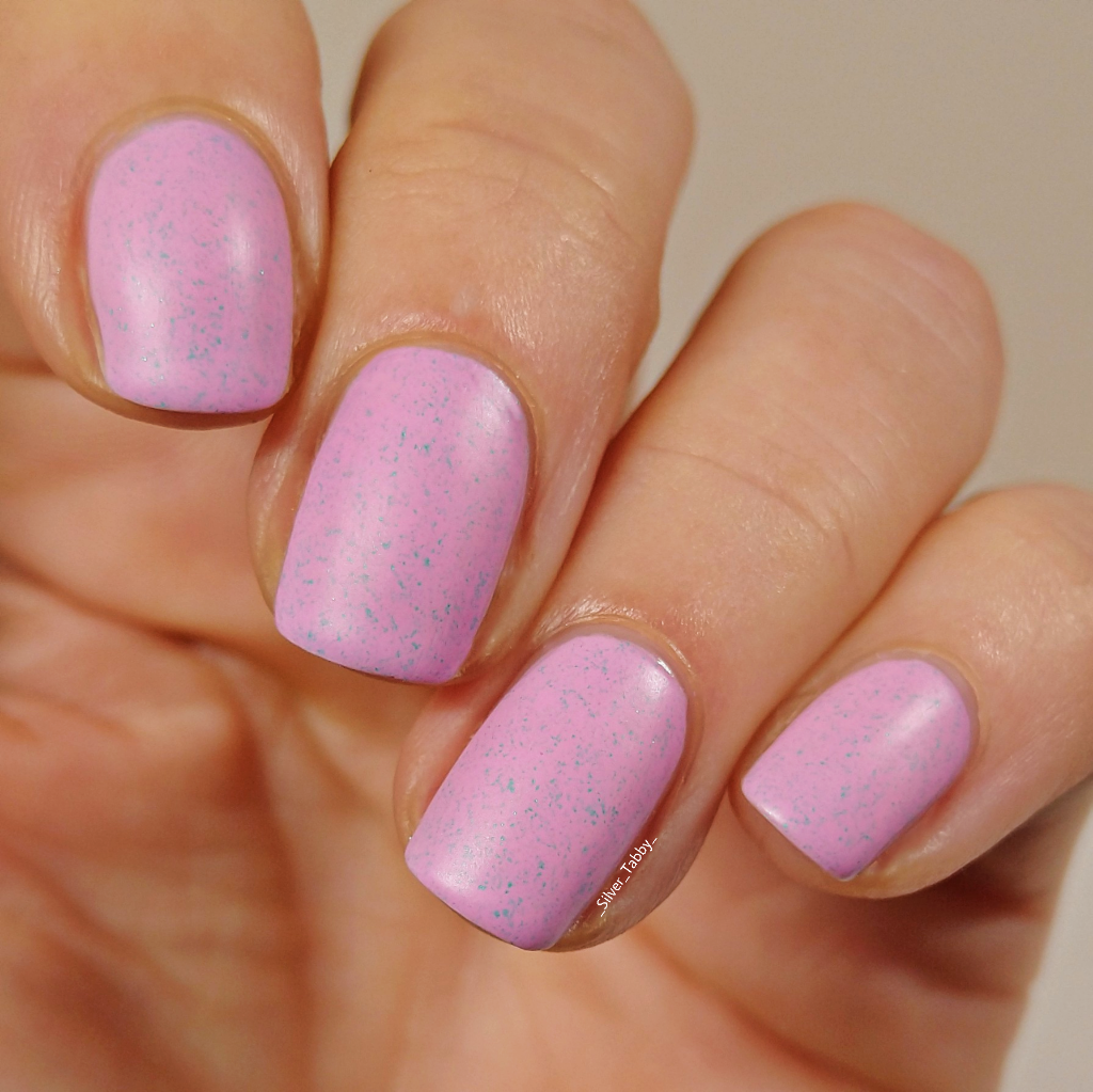 Apple blossom with Frosting matte top coat in 2020 Indie