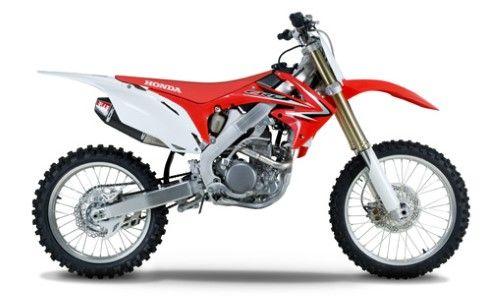 Yoshimura Rs 4 Titanium Carbon Full System For Honda Crf 250 R 2010 Black Honda Powersports Motorcycle Dirtbikes