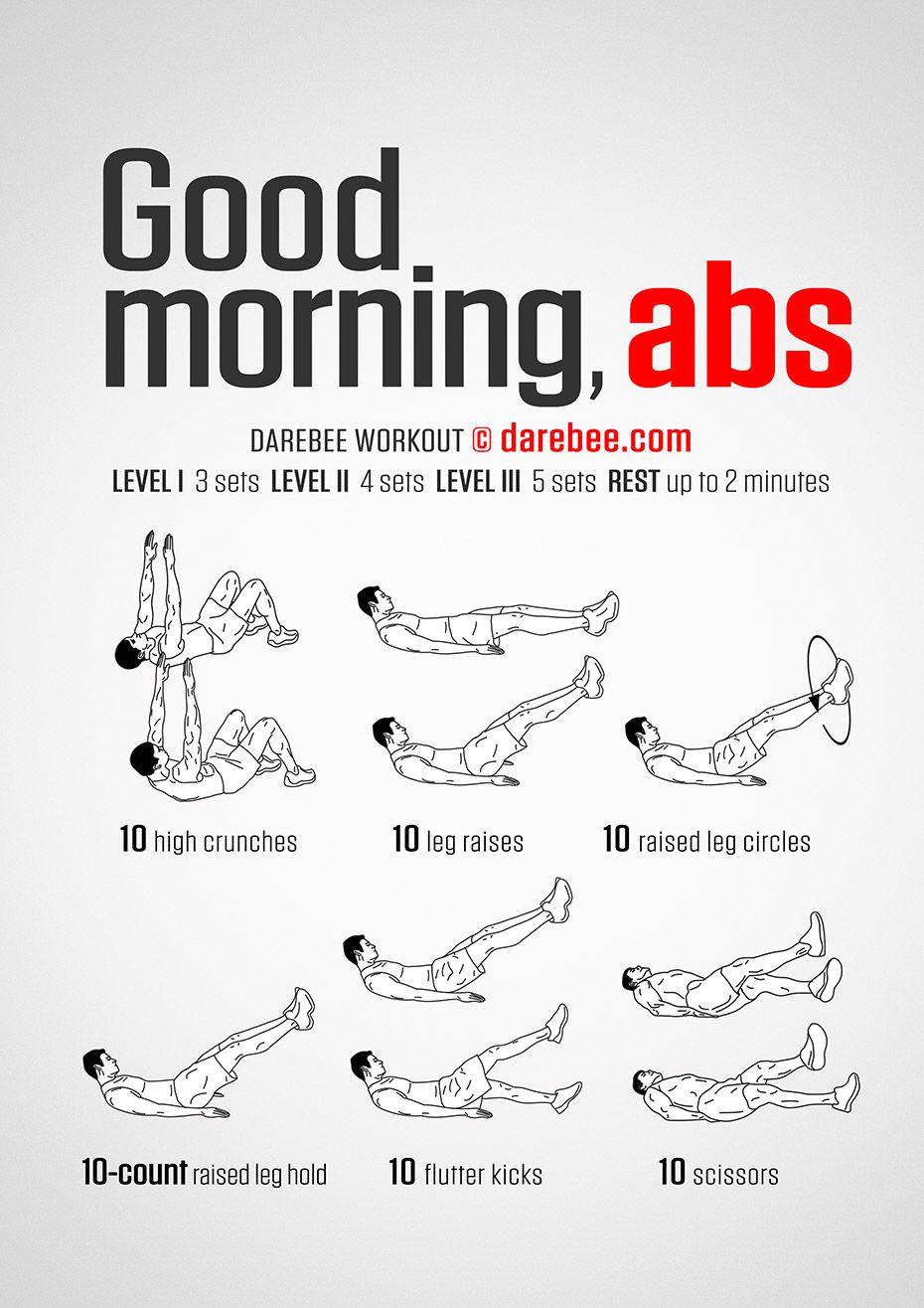 Good Morning Abs workout.