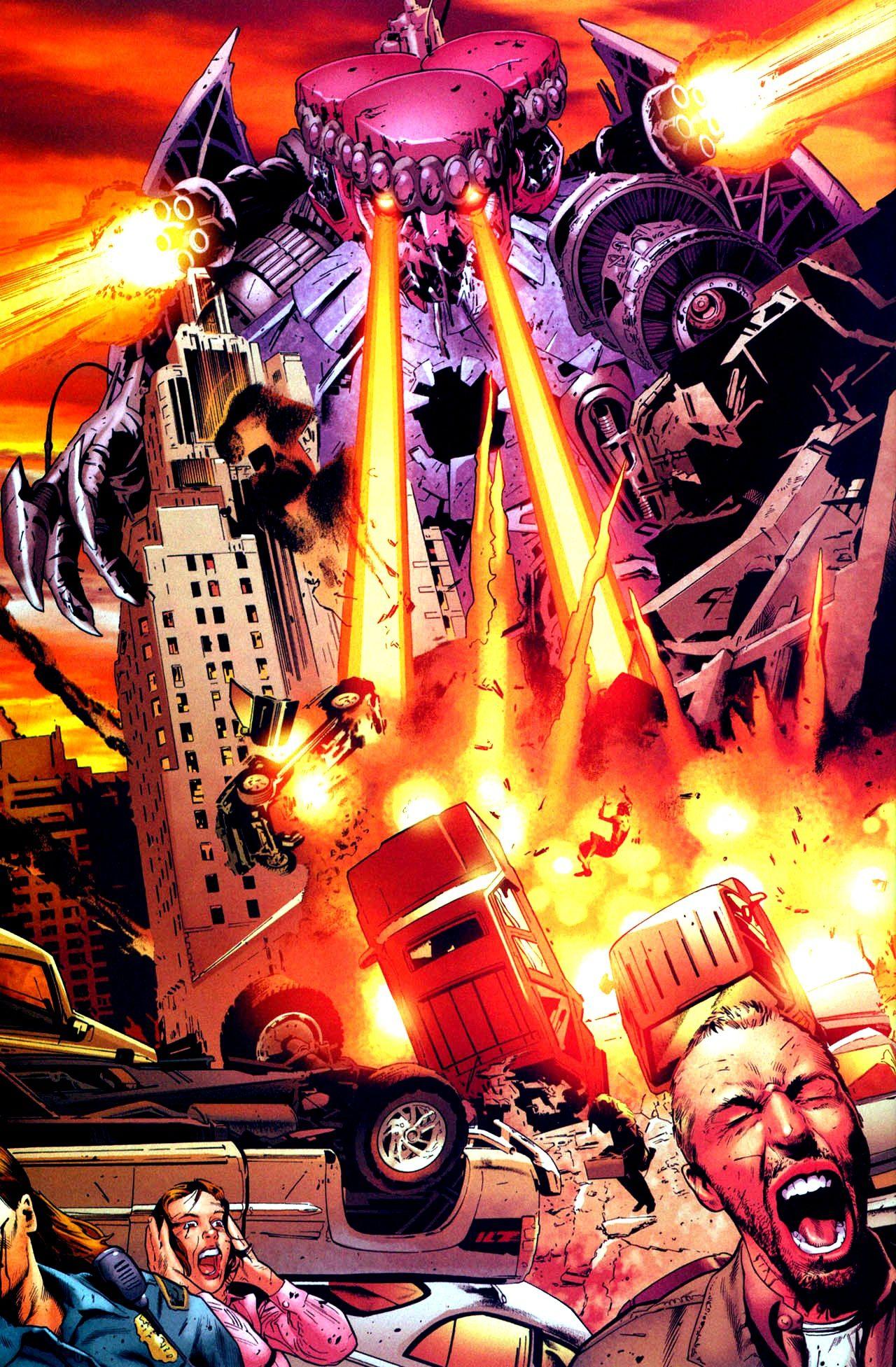 The Uber Gigantic Sentinel By Scot Eaton Marvel Villains Comic Villains X Men