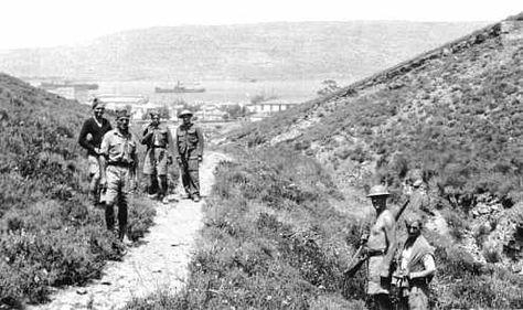 1941: Above Souda bay, Crete - pin by Paolo Marzioli
