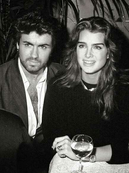 George with Brooke Shields