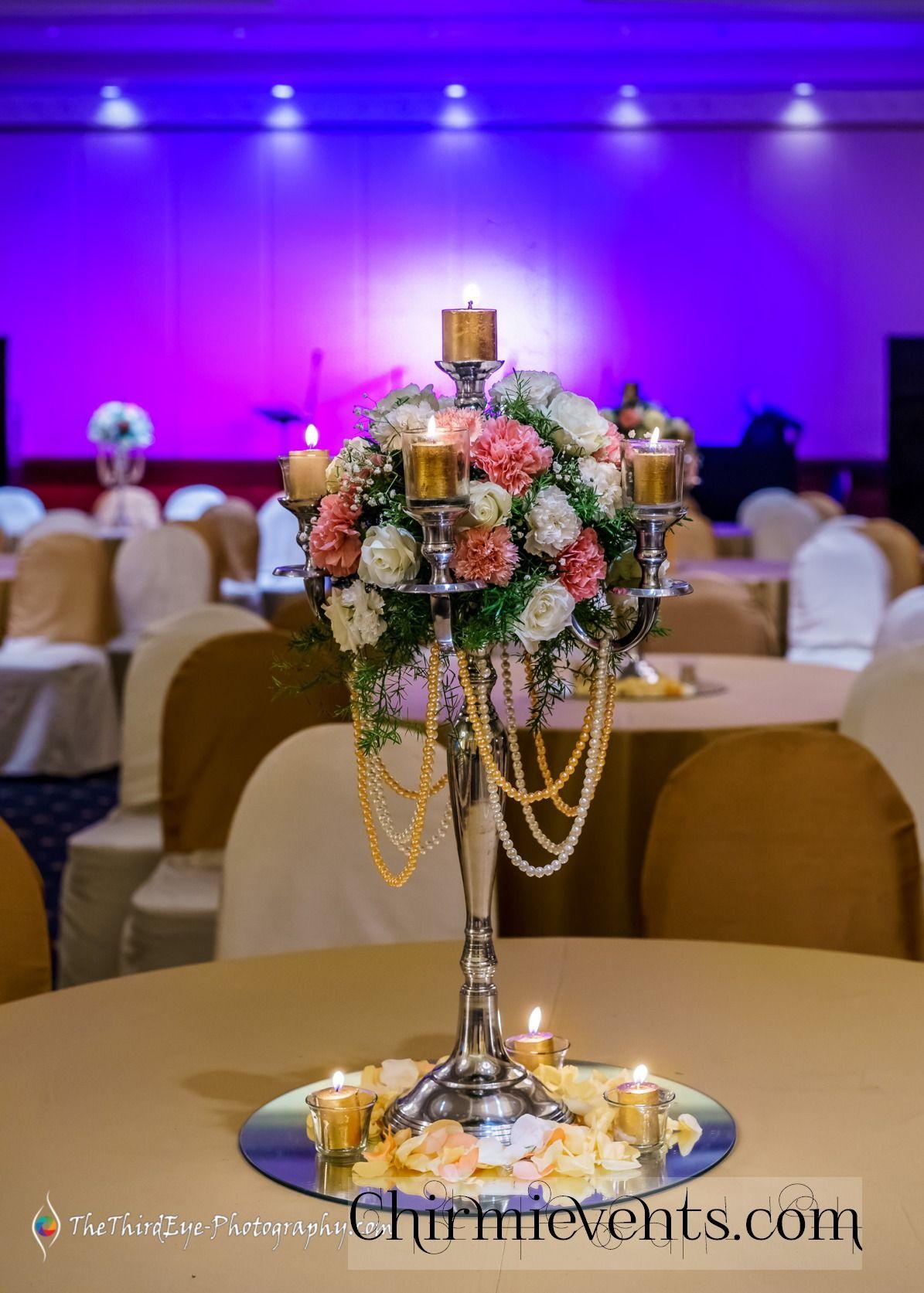Indian wedding reception Decor ideas white & peach theme