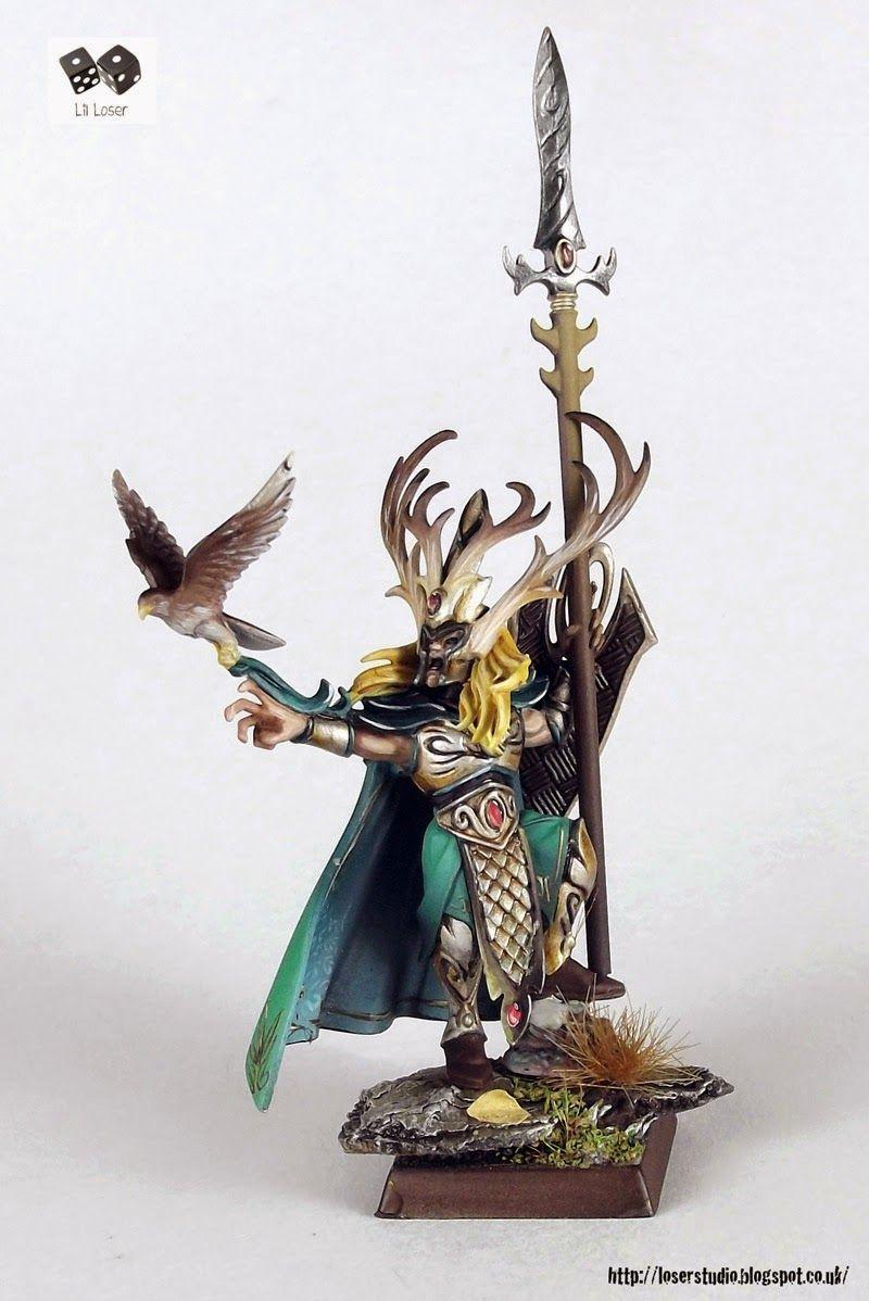 Araloth The Lord Of Talsyn And Eye Thief Warhammer Wood